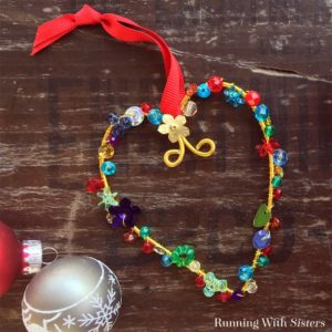 Learn to make Colorful Beaded Christmas Ornaments using floral wire, beads, and sequins. We'll show you every step with this holiday craft video tutorial!