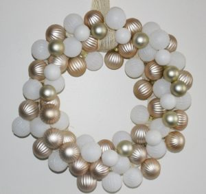 Make-A-Rose-Gold-White-Dollar-Tree-Ornament-Wreath-Our-Crafty-Mom