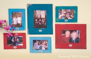 Make your own DIY Distressed Picture Frames. We'll show you how!