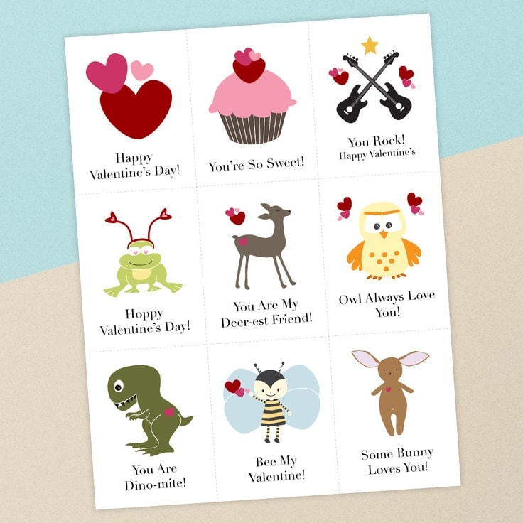Valentines day cards for kids free printable download ideas for the home - Children s day images download ...