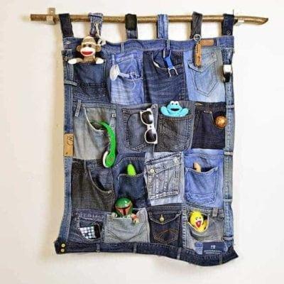 Denim Pocket Organizer