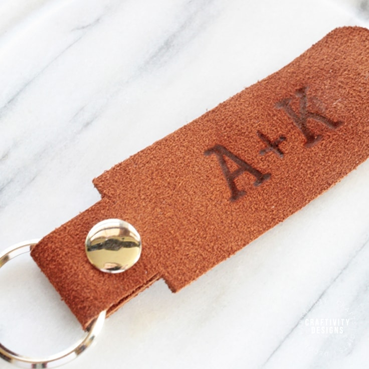 How to Make Your Own Keychain with Leather