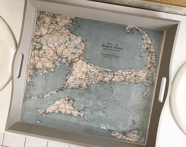 How to Make an Easy Nautical Tray