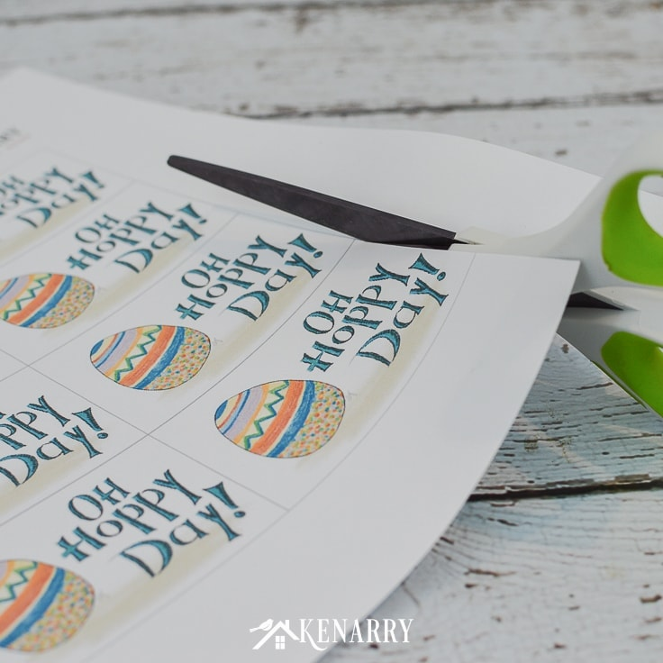 Easter Gift Tags: Free Printable Cards For Easter Baskets