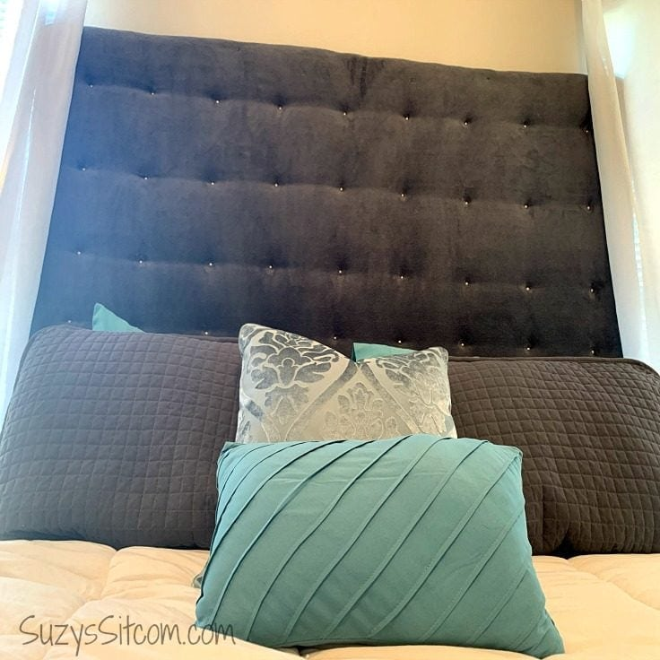 How To Make A Fabric Headboard On A Budget Ideas For The