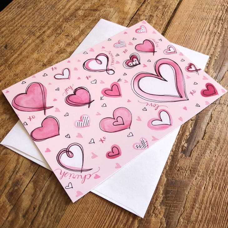 This is a photo of Remarkable Valentines Printable Cards