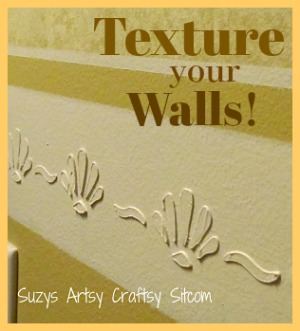 A simple way to add texture to your walls!
