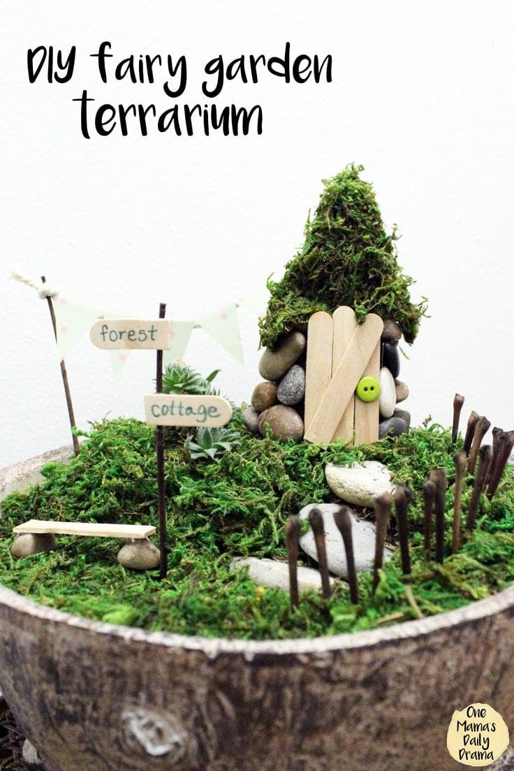 Diy Fairy Garden Terrarium Easy Tutorial Ideas For The Home