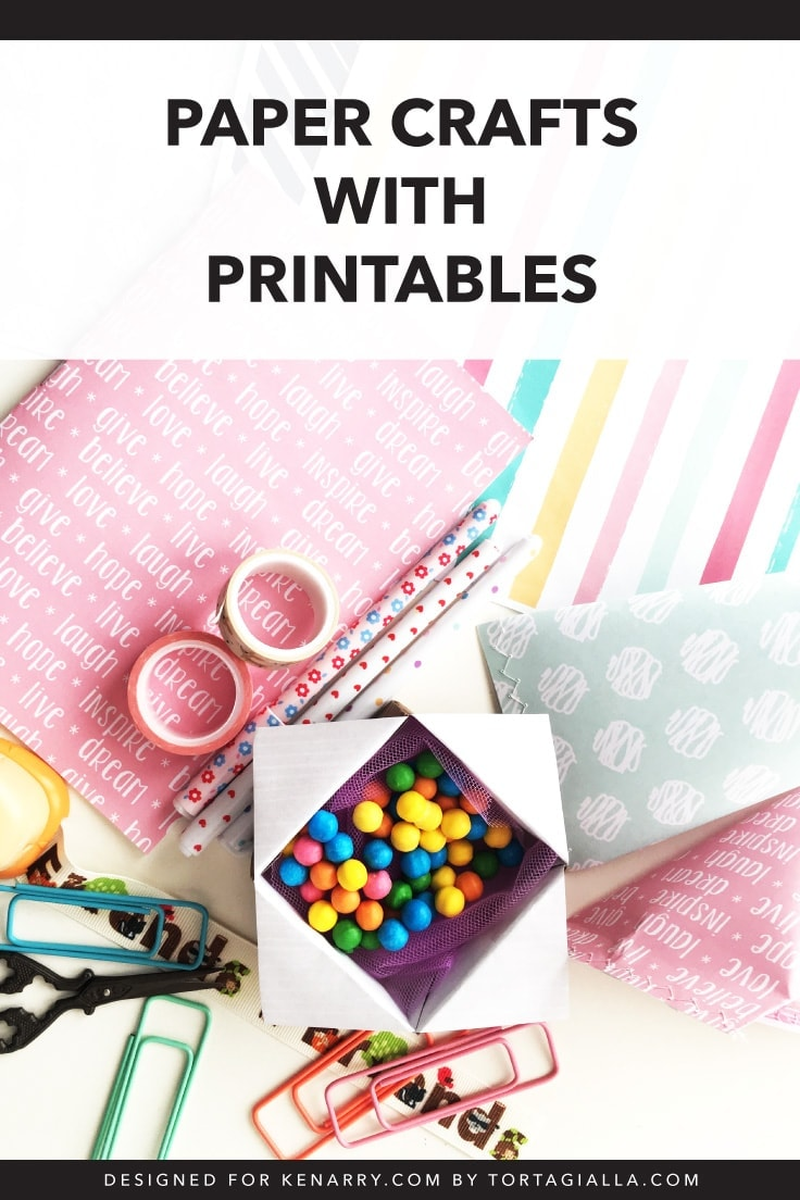 image relating to Free Printable Paper Crafts known as Paper Crafts with Printables: Totally free Down load Designs for the Household