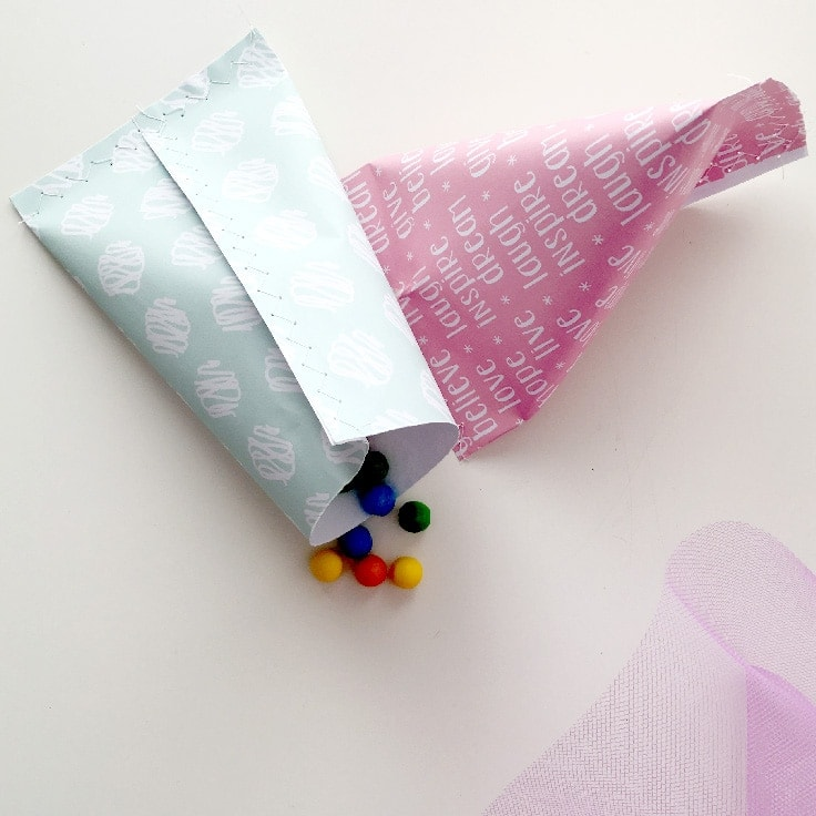 Use paper to make homemade Gift Wrapping | Use printable paper to wrap small gifts or party favors.