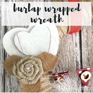 Burlap Wrapped; TrishSutton.com