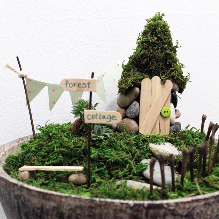 DIY Fairy Garden Terrarium: Easy Tutorial