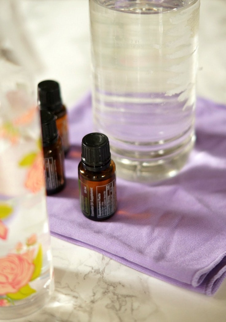 Three Ingredient Homemade Antibacterial Cleaner