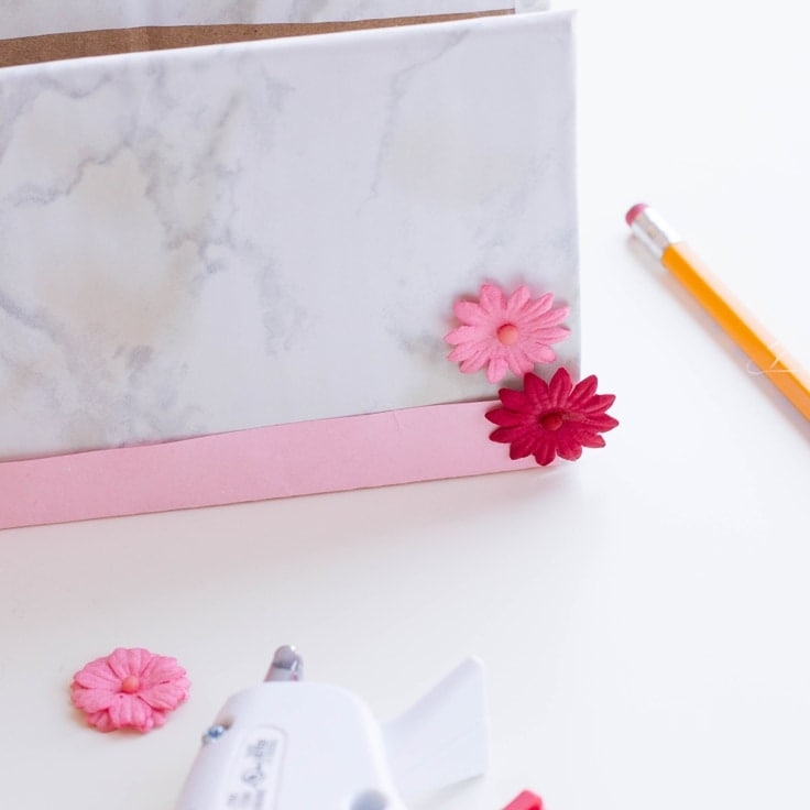 A DIY receipt folder to keep all of your smaller files and documents organized.