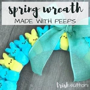 Spring Peeps; TrishSutton.com