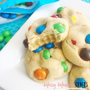 If you love Nutella, then you will love these Hazelnut Spread M&M Cookies.