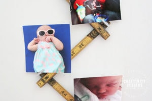 DIY Photo Display in 5 Minutes by Craftivity Designs