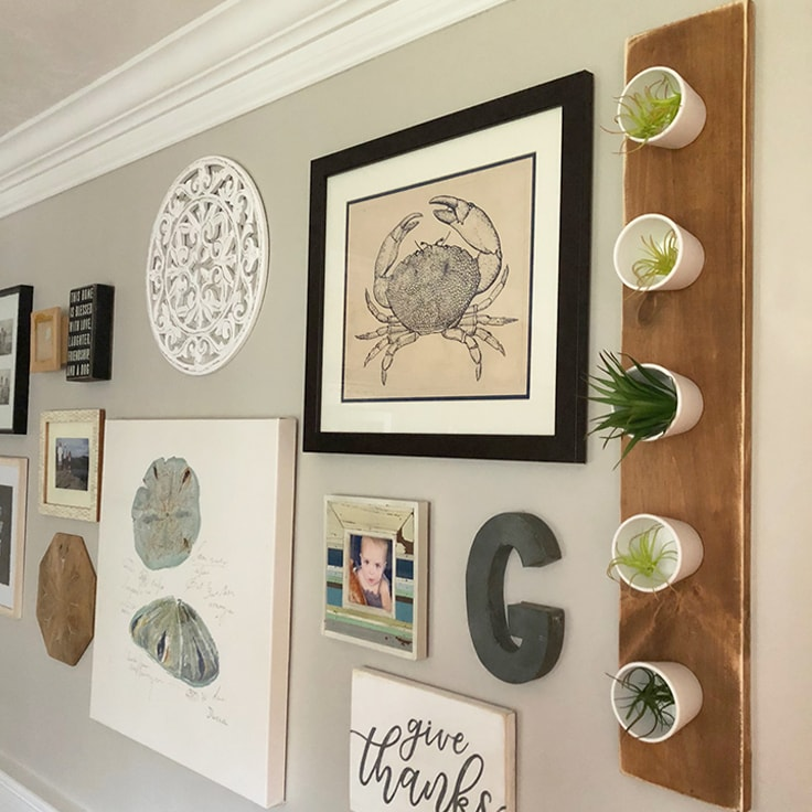 How to Make a Simple Hanging Wall Planter