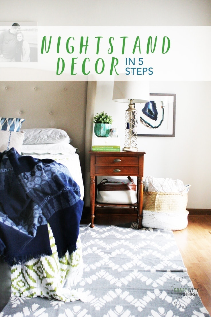 Easy Nightstand Decor For Your Bedroom In 5 Quick Steps Ideas For The Home