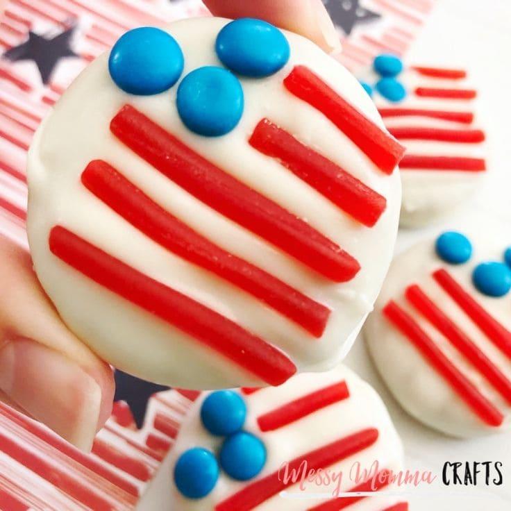4th of July Flag Cookies: An Easy Patriotic Dessert