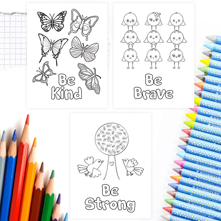 Printable Coloring Pages for Free Download