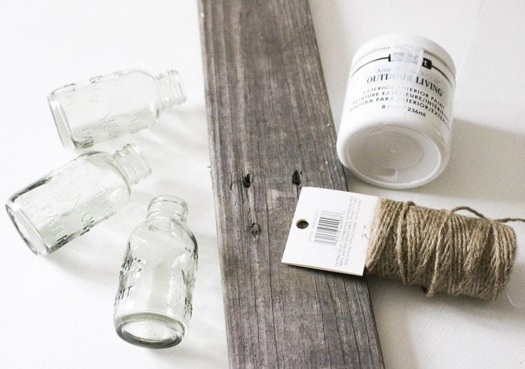 pallet vase supplies