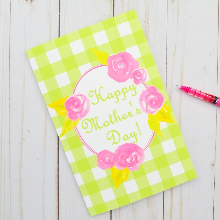 Printable Mother's Day Card for Your Amazing Mom