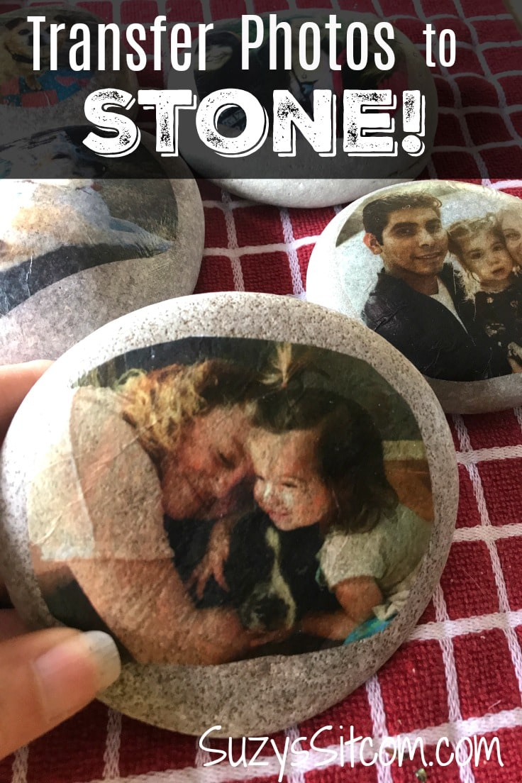 Create a beautiful memory that can last a lifetime!  This tutorial will show you how to easily transfer photos onto stone.  Transfer photos, quotes, illustrations, or anything that you can print on a simple printer!