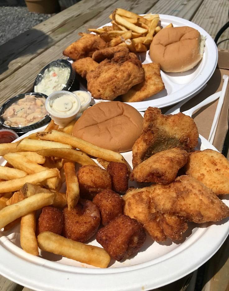 Rudys seafood in Oswego, NY