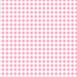 Pink gingham pattern design