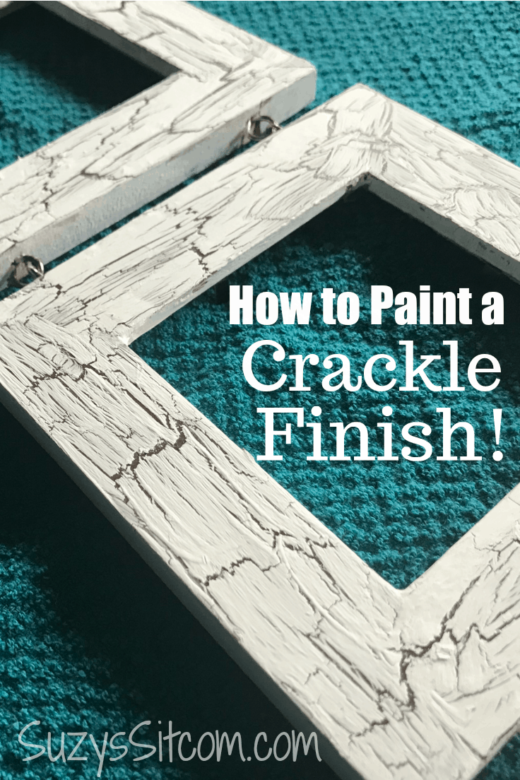 Easy Painting Technique How To Paint A Crackle Finish Ideas For The Home