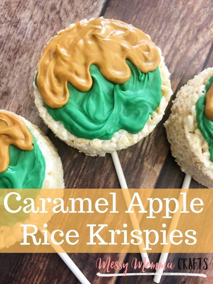 Caramel Apple Rice Krispies