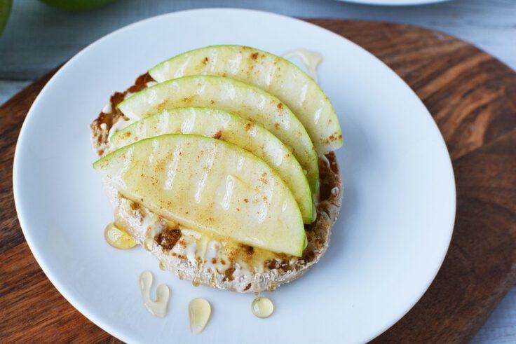 Apple cinnamon honey brie