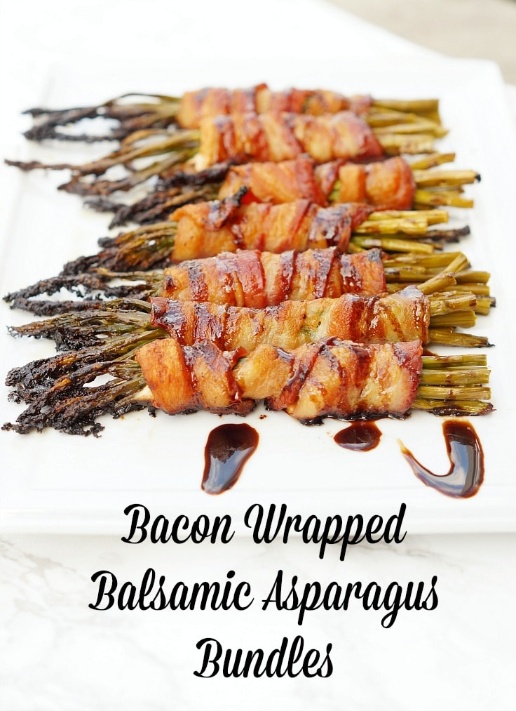 Asparagus Bundles with Bacon and Balsamic
