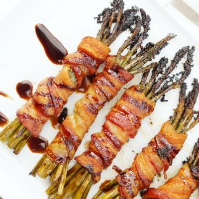 Easy Wrapped Asparagus with Bacon