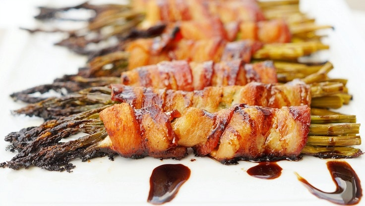 Bacon Wrapped Asparagus Side Dish Recipe