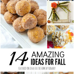 14 Amazing Ideas for Fall featured on Ideas for the Home by Kenarry