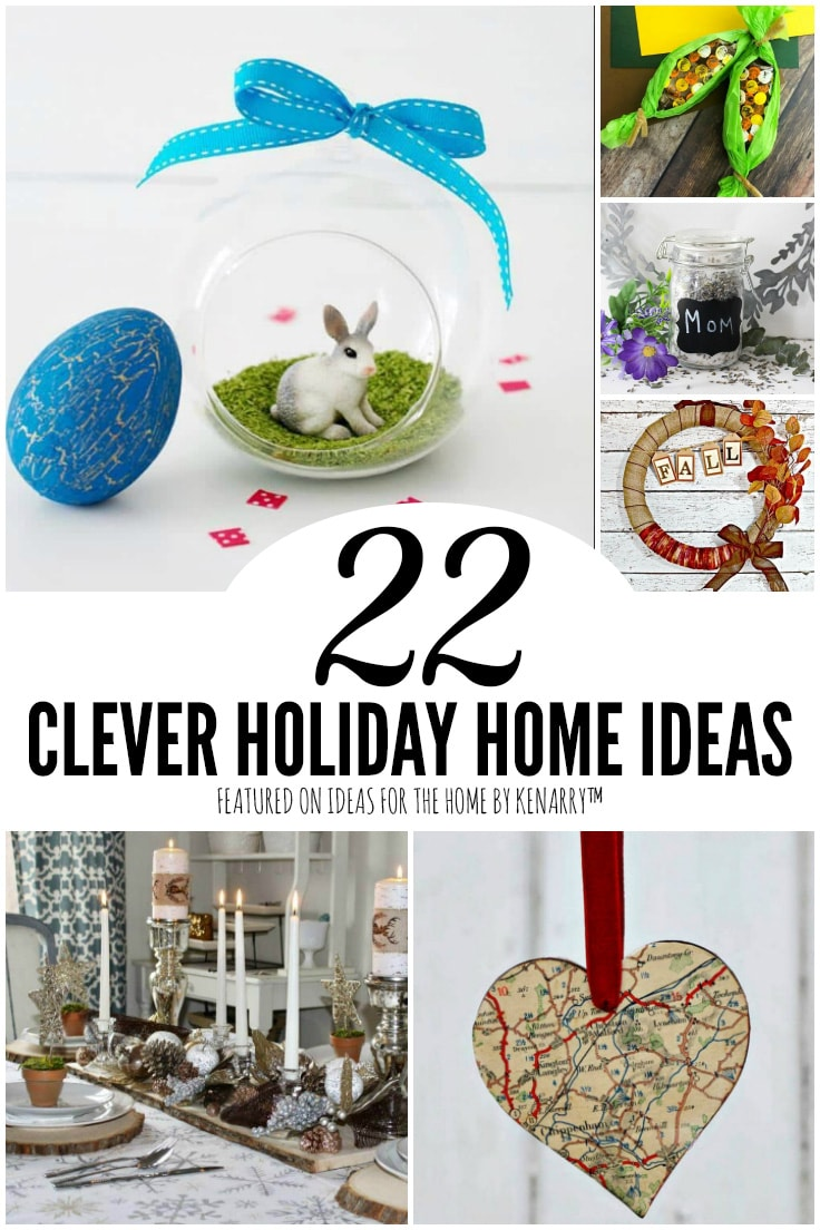 22 Clever Holiday Home Ideas featured on Ideas for the Home by Kenarry