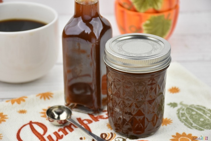 Store the syrup in an airtight container.