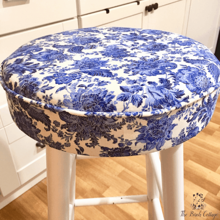 How to Upholster a Bar Stool