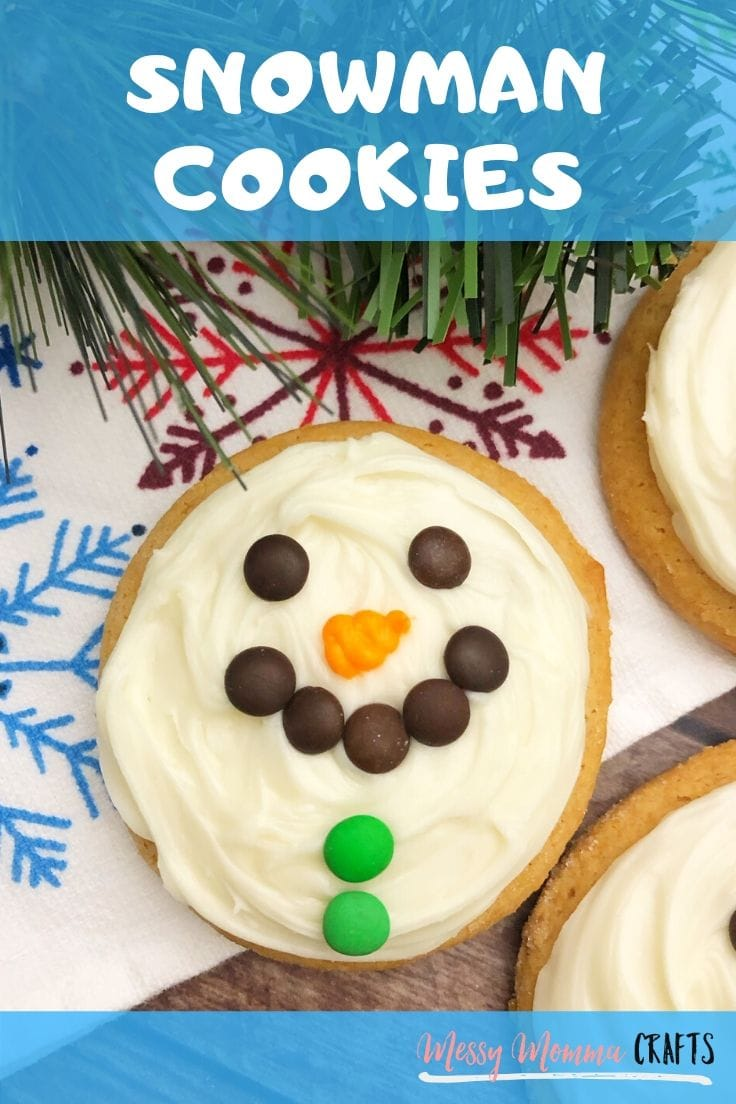 Try my Snowman Cookies - An Easy to Make Treat. They only require a handful of ingredients and the whole family can enjoy!