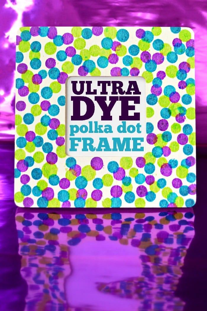 Ultra Dye Polka Dot Frame