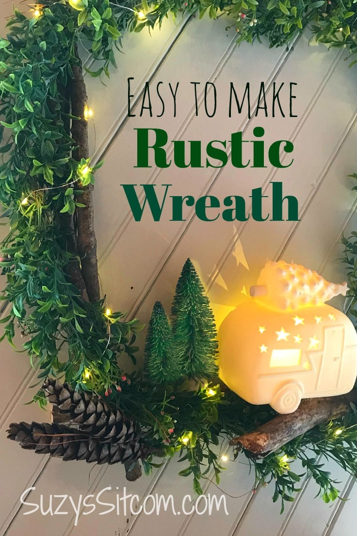 Easy to Make Rustic Wreath