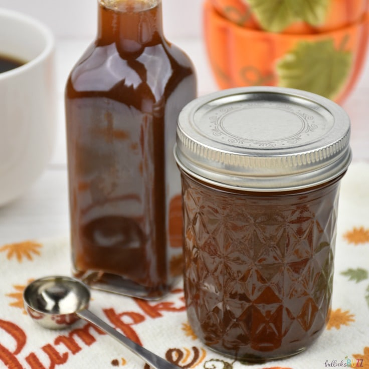 Homemade Pumpkin Spice Syrup Recipe