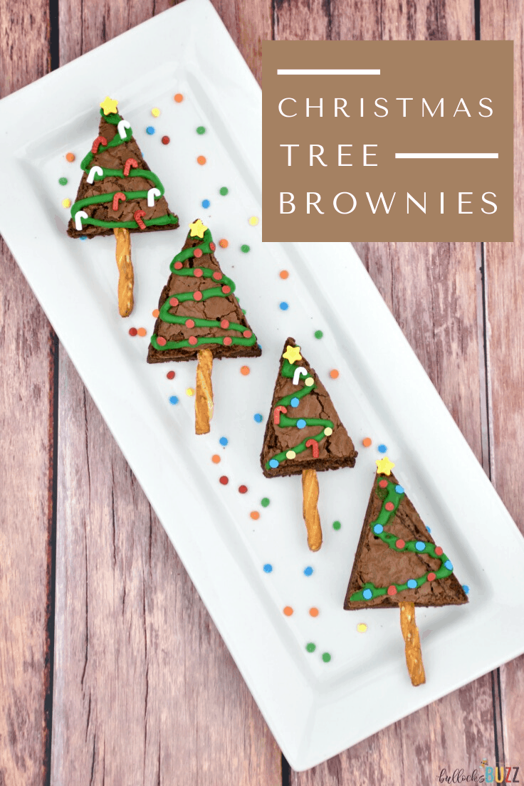 Make your holidays extra festive with these rich, chewy, fudgy Christmas Tree Brownies. Delicious and easy-to-make, these holiday brownies are sure to put a smile on everyone's face!