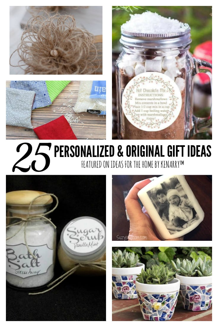 25 Personalized & Original Gift Ideas