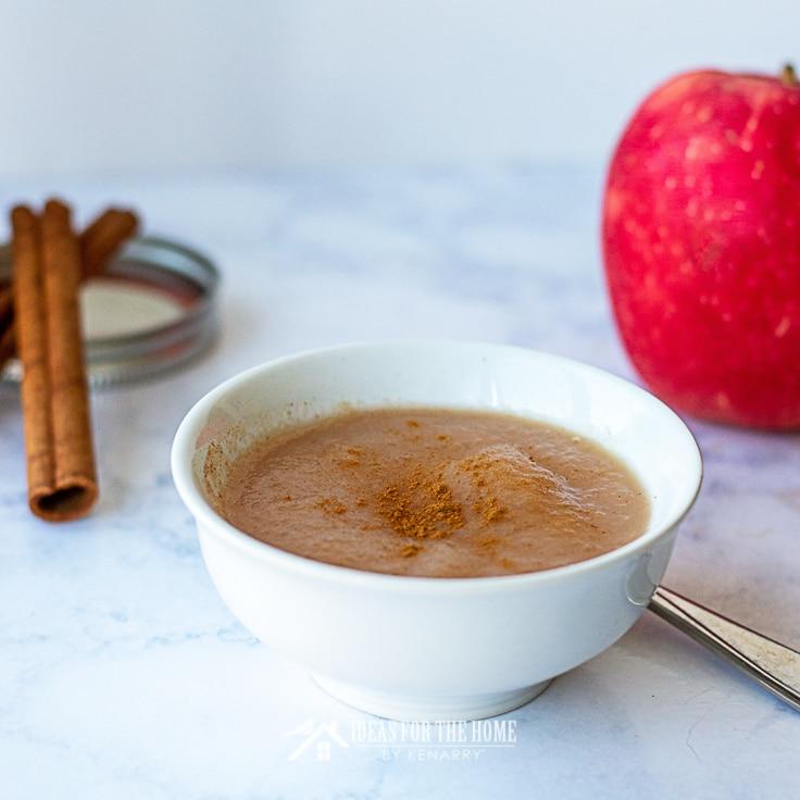 Baked Cinnamon Applesauce: Canning in 5 Easy Steps