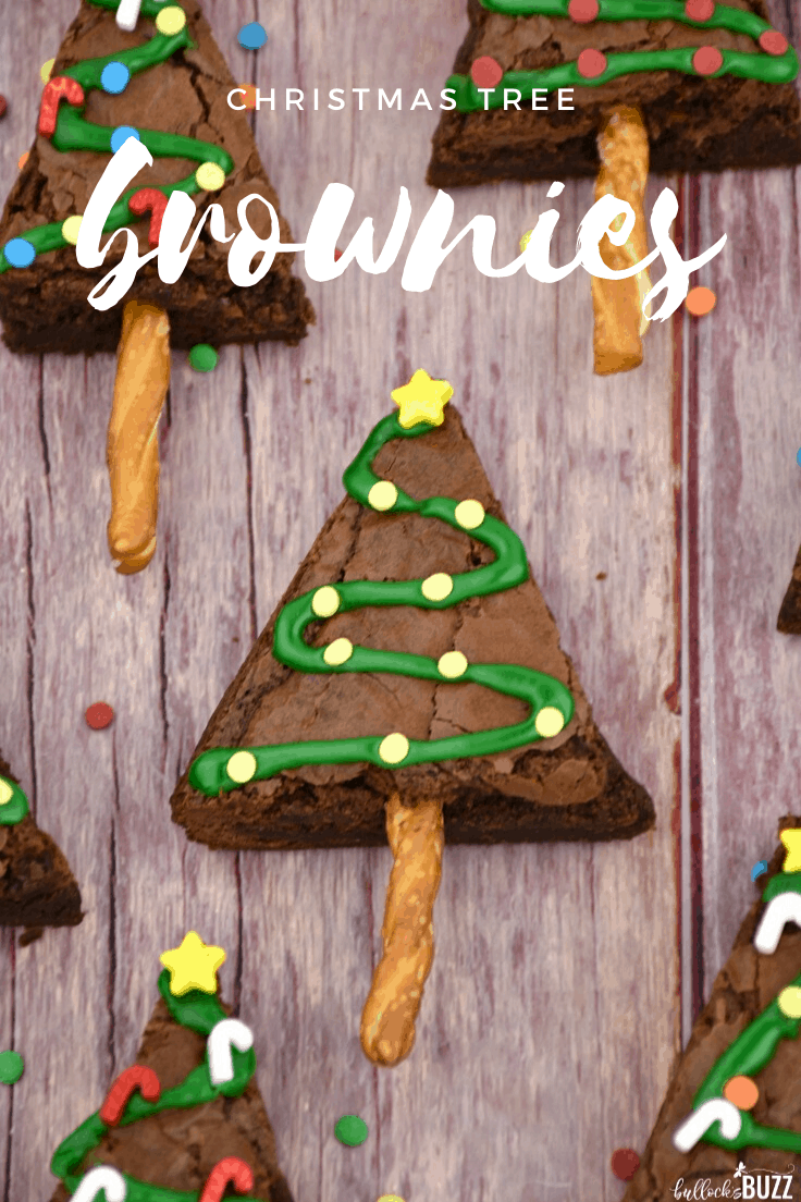 Delicious and easy-to-make, these Christmas Tree Brownies are the perfect holiday treat!