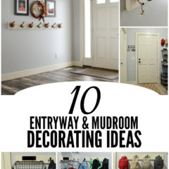 10 Entryway and Mudroom Decorating Ideas | Ideas for the Home by Kenarry