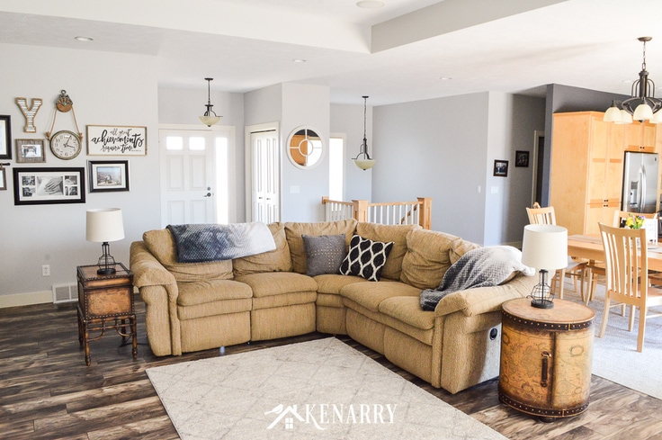 Living Room Decorating Ideas With Farmhouse Style Ideas